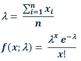 where e is the base of the natural logarithm equal to 2.71828..