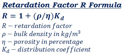 formula to measure the factor of dissolving the mixture or seperation of mixture in the fluid