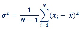 Variance Formula & Calculation