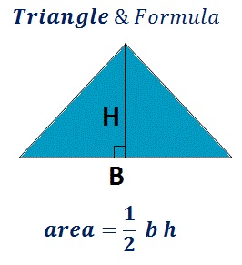 formula to find triangle area