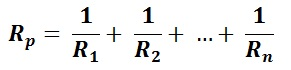 Parallel Resistors Equivalent Resistance Equation and Calculation