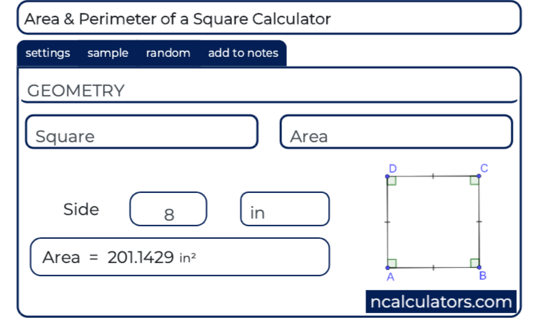 Square Calculator